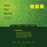 Website Template Vector Stock Photo