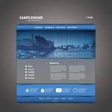 Website Template Vector Stock Photos