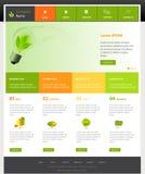 Website template. Web Design Website Vector Elements Royalty Free Stock Image