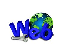 Website tools royalty free illustration