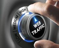 Website Traffic Stock Photo