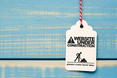 Free Website Under Construction Royalty Free Stock Images - 104797479
