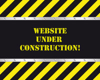 Website under construction. Under construction page for website Royalty Free Stock Images