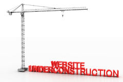 Website Under construction Stock Images