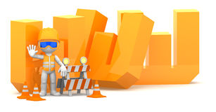 Website under construction concept Royalty Free Stock Images