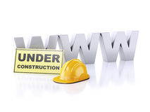 Website under construction concept. 3d illustration Stock Photography