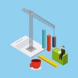 Website under construction design Stock Images