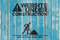 Website under construction stock image