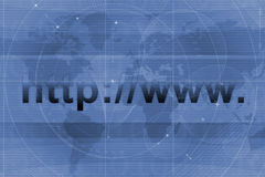 Website URL background Stock Images