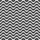 Website vector seamless wavy line pattern stock illustration