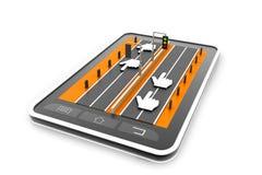 Website-Verkehr Lizenzfreie Stockfotografie