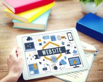 Website Www Connection Internet Online Concept Royalty Free Stock Images
