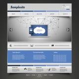 Websitedesign för din affär Royaltyfri Foto