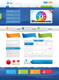 Websiteelementen Stock Foto's