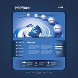 Websitemalplaatje stock illustratie