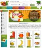 Websitemalplaatje 9 Royalty-vrije Stock Afbeeldingen