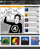 Websitemalplaatje 69 Royalty-vrije Stock Afbeeldingen