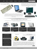 Websiteschablone 27 Lizenzfreies Stockbild