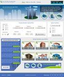 Websiteschablone 43 Stockbilder