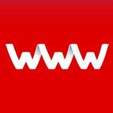 Websiteteken Royalty-vrije Stock Foto's