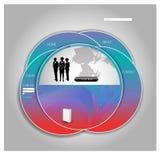 Websitetemplete Vecotor EPS10 Arkivfoto