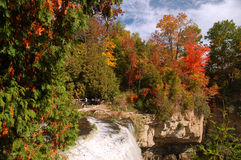 Webster Falls (2) stock images