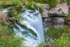 Webster's falls in Hamilton Royalty Free Stock Photo
