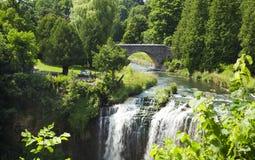 Webster's Falls in Hamilton. Ontario, Canada. Stock Photos
