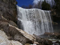 Websters Falls stock image