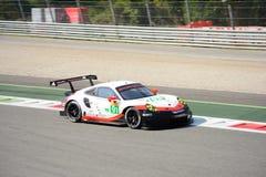 WEC Porsche 911 RSR in Monza Royalty-vrije Stock Foto