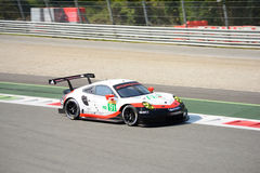 WEC Porsche 911 RSR at Monza Royalty Free Stock Photo