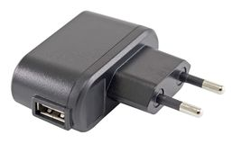 Wechselstrom-Adapter für die Aufladung des Telefons Lizenzfreie Stockfotografie