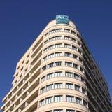 Wechselstrom-Hotels, Spanien stockfoto