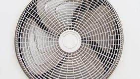 Wechselstrom-Kondensatorfan Stockbild
