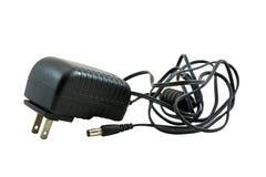 Wechselstrom zu DC-Stromadapter Stockbild