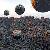 Wecken in Atlantis vektor abbildung