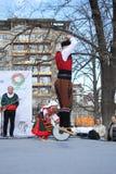Wecken mit horo - bulgarischer traditioneller Tanz Stockbild