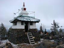 Weckendes Stupa - buddhistischer Tempel auf einer Höhe von 843 Metern über Meeresspiegel Berg Kachkanar Swerdlowsk-Region Russi Stockfoto