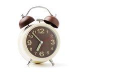 Wecker auf 7 morgens Lizenzfreies Stockfoto