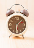 Wecker auf 6 morgens Stockfotografie
