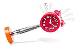 Wecker-Schlafen Lizenzfreies Stockfoto