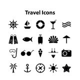 Wed icons vector collection of traveling Stock Images