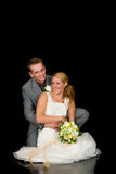 Wed neuf les couples photographie stock