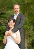 Wed neuf les couples photos libres de droits