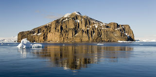 Weddell Meer in Antarktik lizenzfreie stockfotos