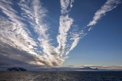 Weddelloverzees - Antarctica Royalty-vrije Stock Afbeelding