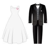 Weddig dress Stock Image