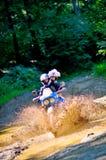 Weddin на мотоцикле Стоковое фото RF