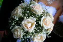 Weddind bunch of flowers. Royalty Free Stock Photography