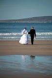 Wedding à la mer Photographie stock libre de droits